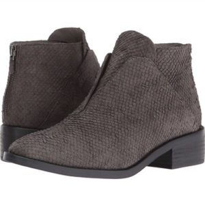 Eileen Fisher Tuck Booties - Graphite